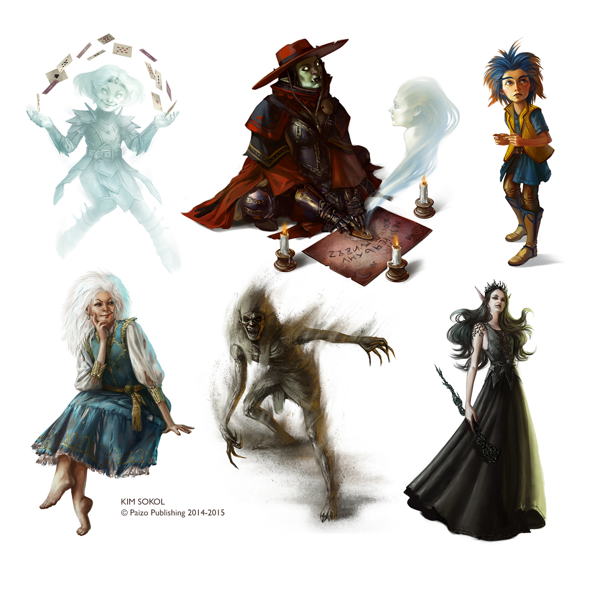 Pathfinder Characters
