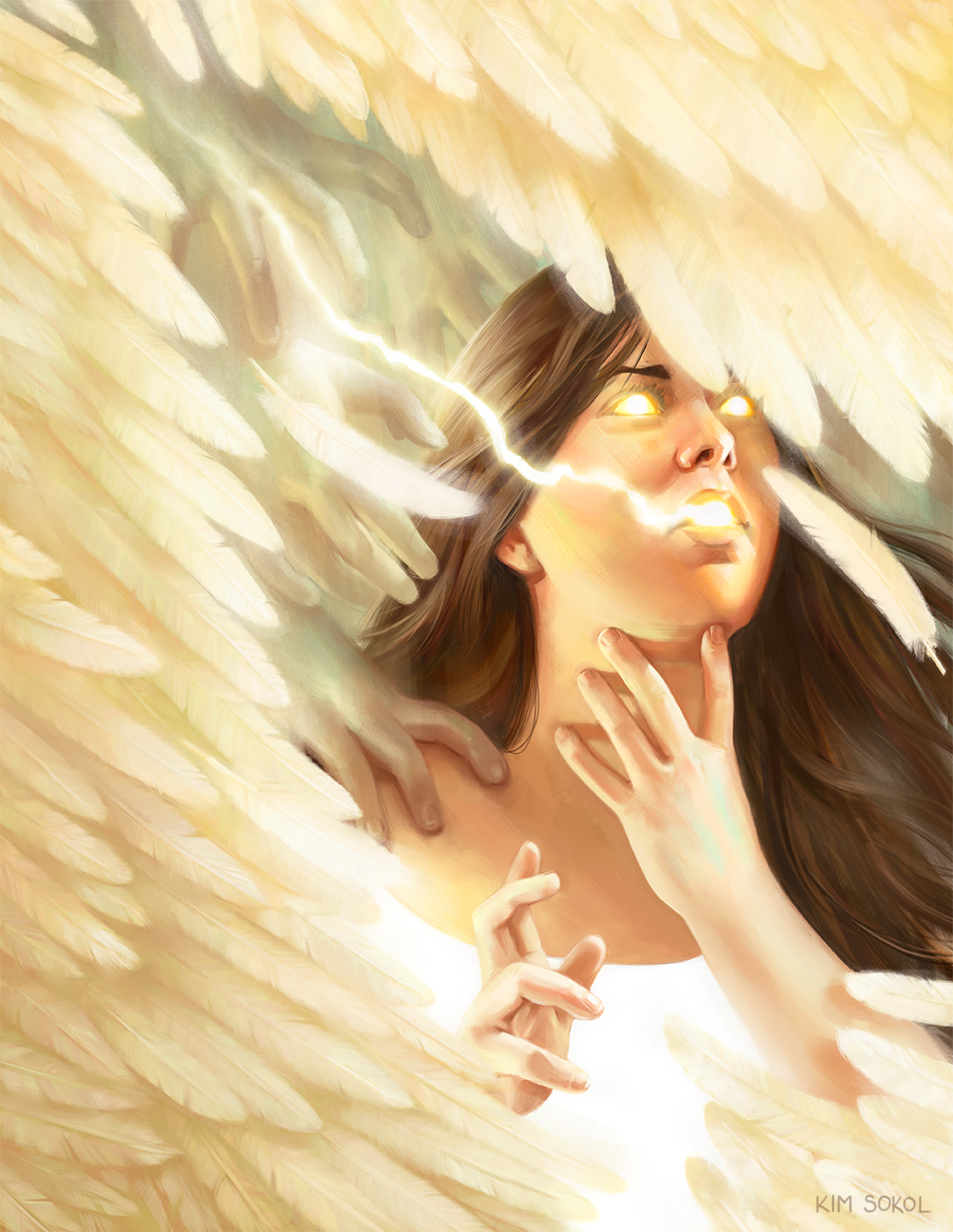 The Girl Sees Angels